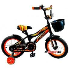 Велосипед детс двухк FAVORIT BIKER BIK-14OR Китай