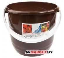 Ведро Practic (Практик) 10 л, шоколадный, BEROSSI ИК14945000 Беларусь