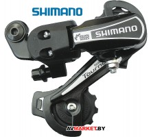 Переключ задний SHIMANO TOURNEY RD-TY21-A-G 34T 6-7ск на петух черный пластик-сталь 83609727 Китай