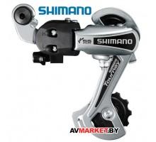 Переключатель задний Shimano Tourney TY21-B GS 6ск крепление на петух цв. серебро без уп Китай 4221