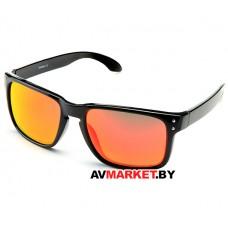 Очки солнцезащитные 2K S-14009-E (черный глянец/красный revo) 5925 Тайвань