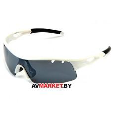 Очки солнцезащитные 2K S-14012-C (белый глянец/зеркальные revo) 5930 Тайвань