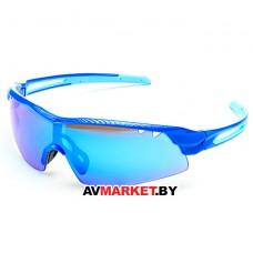 Очки солнцезащитные 2K S-15002-G (синий глянец/синий revo) 5922 Тайвань