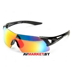 Очки солнцезащитные 2K S-18035-U (черный глянец/красный revo) 5924 Тайвань