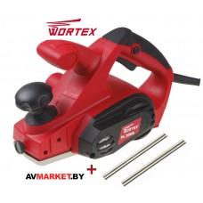 Рубанок электрический WORTEX PL2009 в кор.+АКЦИЯ Нож для рубанка 2шт. PL200900011A1