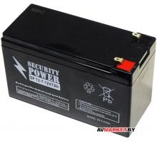 Аккумуляторная батарея Security Power SP12-7 12V/7A  гель Китай