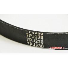 Ремень ручейковый 7PJ230 CM160 180 CM-192 (Бетонка) CM172-27 CM192-27 Китай