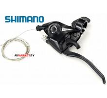 Ручка тормоза/манетка SHIMANO ST EF 51/3 (черн)