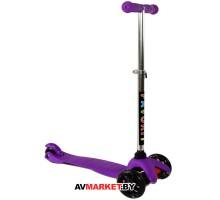 Самокат FAVORIT 4105-VL фиолет Китай