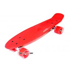 Скейтборд M2201-RD красн Китай