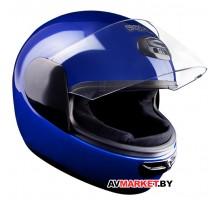 Шлем мото Секо Спирит синий 56р.