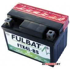 Аккумулятор FULBAT MF FTX4L-BS AGM 113*70*85 3Ач -/+ 550617