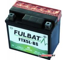 Аккумулятор FULBAT MF FTX5L-BS AGM 113*70*105 4Ач -/+ 550618 Китай