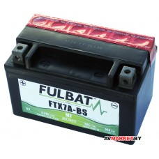 Аккумулятор FULBAT MF FTX7A-BS AGM 150*87*93 6Ач -/+ 550619 Китай