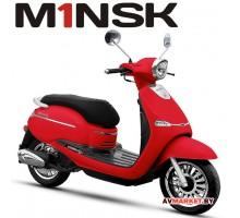 Мотороллер VESNA B50 ZNPA50 цвет красный 4810310003488 Китай