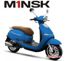 Мотороллер VESNA B50 ZNPA50 цвет синий 4810310003471 Китай