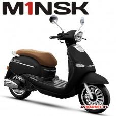 Мотороллер VESNA B125 ZNPA125 цвет чёрный 4810310003457 Китай