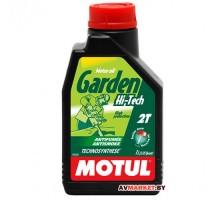 Масло Motul Garden 2T HI TECH мот полусин для 2-х тактн двиг сад техники 1 л Германия