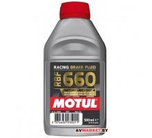 Тормозная жидкость Motul RBF 660 FACTORY LINE DOT4 500мл Германия 101666