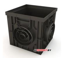 Дождеприемник пластиковый 300*300 черный РБ ДИ03405000