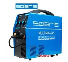 Сварочный полуавтомат SOLARIS MULTIMIG-245 (MIG/MMA/TIG) Китай