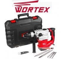 Перфоратор WORTEX RH 3239 в чем +(2зубила 3 сверла) (Китай)
