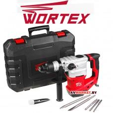 Перфоратор WORTEX RH 3239 в чем +(2зубила 3 сверла) RH3239K1111 Китай