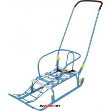 Санки детские Тимка 5 КЛАССИК (с колёсиками)  скла