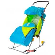 Санки-коляска дет. Тимка 2 КОМФОРТ (колес,регул.с)