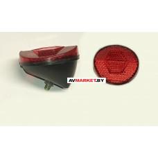 Катафот световозвращатель F-03 сорт 1 красный круг