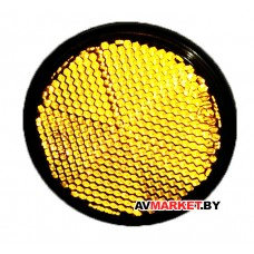 Светоотражатель боковой (круглый желтый) Y0005 SV1 052 038-02