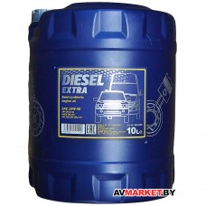 Масло моторное полусинтетическое   Mannol Diesel Extra  SAE10w40 API CH-4/SL10л