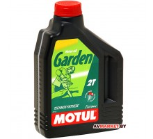 Масло Motul Garden 2T-2 л. моторное полусинтетическое для 2-х так. двигат. садовой техники 2л Герман