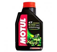 Масло Motul 5100 4T 10W30 1 л моторное, полусинтетическое для 4-х тактных двигателей мотоциклов 1 л