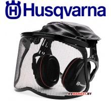 Щиток защитный Husgvarna с наушниками, сетчатой маской и мягким наголовником 5056653-58 Швеция