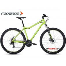 """Велосипед Forward Sporting 29 2.0 disc 21ск рост 19"""" светло-зеленый/черный 8712003000 RBKW0MN9Q010"""