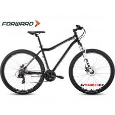 "Велосипед Forward Sporting 29 2.0 disc (29"" 21ск рост 17"") черный/белый 8712003000 RBKW0MN9Q004"