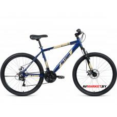 """Велосипед ALTAIR AL 26 D (26"""" 21ск рост 17"""") синий/кремовый RBKN9M66Q018"""