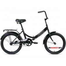 """Велосипед ALTAIR City 20 скл. (20"""" 1ск рост 14"""") черный/серый RBKT0YN01002"""