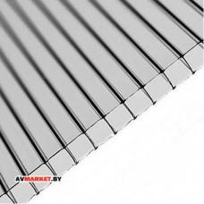 Сотовый поликарбонат 4мм (прозрачный) РФ 2100х6000