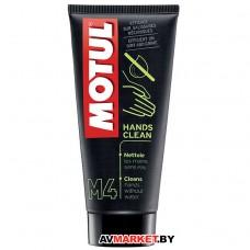 Средство Motul M4 HANDS CLEAN для очистки рук 100м 102995
