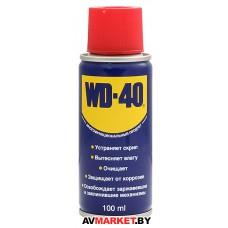 Смазочно-очистительная смесь WD-40 100мл WD-40/100ml Великобоитания