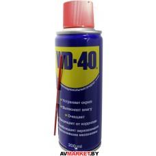 Смазочно-очистительная смесь WD-40 200мл WD-40/200ml Великобоитания