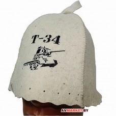 "Шапка для бани ""Т-34"" ТМ ""Батькина баня"" из войлока 10601"