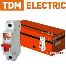 Автоматич. выключатель ВА47-29 1P 10A 4.5кА х-ка С TDM SQ0206-0072