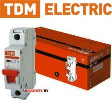 Автоматич. выключатель ВА47-29 1P 20A 4.5кА х-ка С TDM SQ0206-0075
