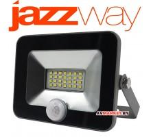 Прожектор светодиодный с датч. движ 20Вт PFL-C sensor 6500K IP54 160-260B JAZZWAY 5001459 Россия