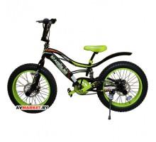 Велосипед Magnum Adrenalin 20 черный-зеленый