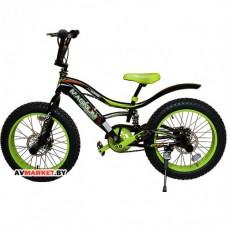 Велосипед Magnum Agressor 24 оранжевый-черный