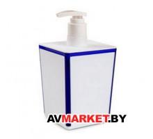 Диспенсер Spacy (Спэйси) снежно-белый, синий, полупрозрачный АС20210000